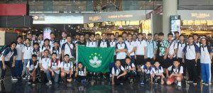 [澳門代表隊]學界代表隊赴曼谷參加2019機械奧運國際賽